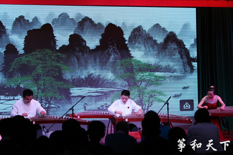 古筝三重奏《彝族舞曲》-筝与少年 刘子驹古筝独奏音乐会 圆满成功
