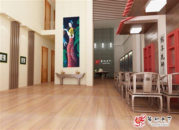 箏和天下(長沙)古箏藝術中心裝修效果圖
